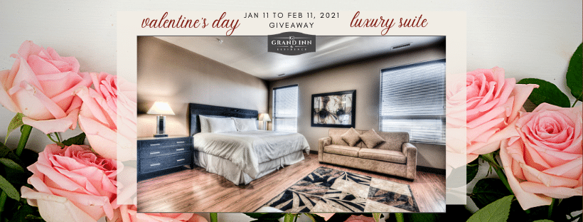 Equity Rentals and Grand Inn & Residence Valentine's Day Giveaway